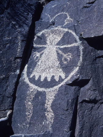 132538-FB~Ancient-Pueblo-Anasazi-Rock-Art-Affiches