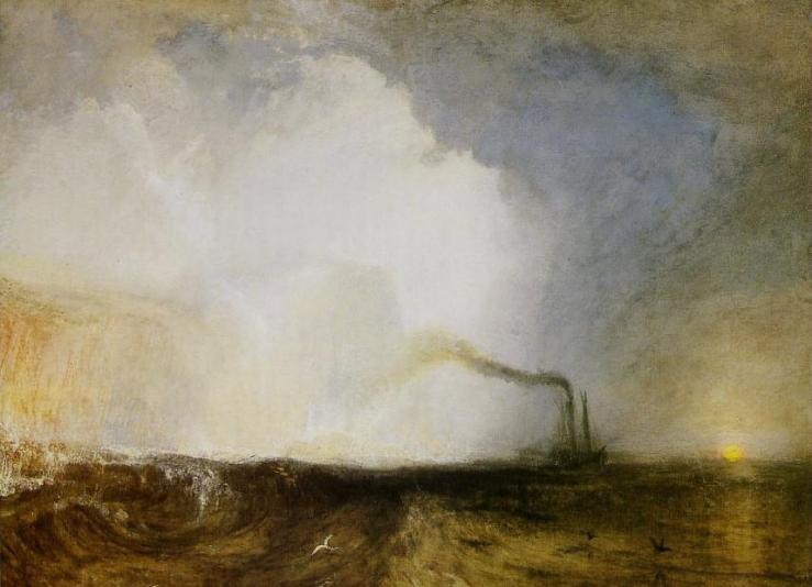 Turner, Staffa, la grotte de Fingal