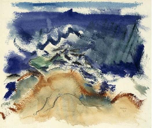 Marin - The Sea, Maine - 1921