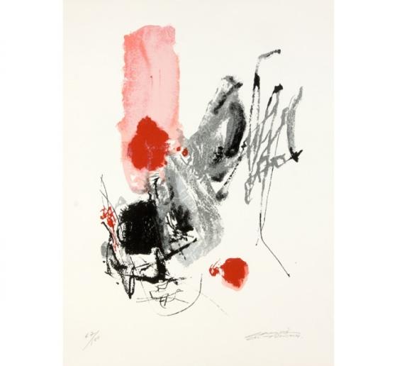 Chu teh Chun , lithographie