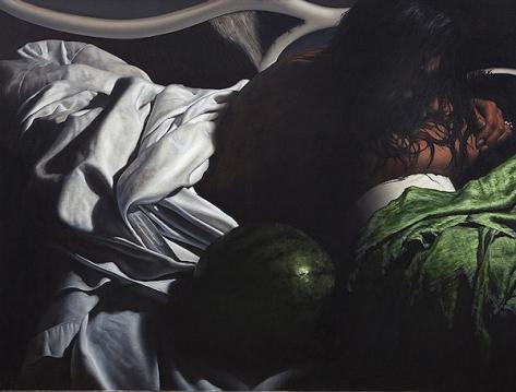 (c) Angus mc donald, melon + shawl