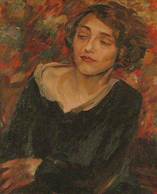 Portrait of Kitty , David Bomberg  (c) DACS; Supplied by The Public Catalogue Foundation