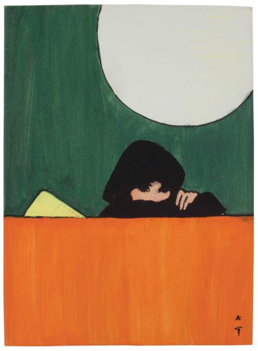 Rene Gruau Moonlight Lady, 1962