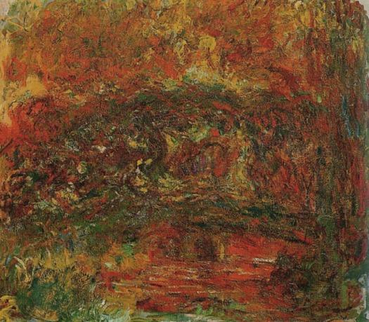 Monet, le pont japonais